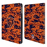Official NFL Digital Camouflage 2018/19 Chicago Bears Leather Book Wallet Case Cover for iPad Air (2013)