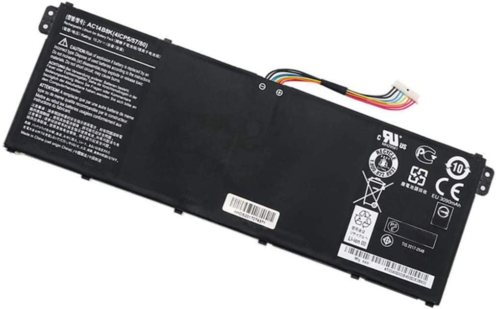 Trconelectron AC14B8K Replacement Battery for AC14B8K AC14B3K ACER Aspire V13 V11 V3-371 V3-331 V13 V3 V3-111 V3-111P TravelMate B115-M B115-MP Series