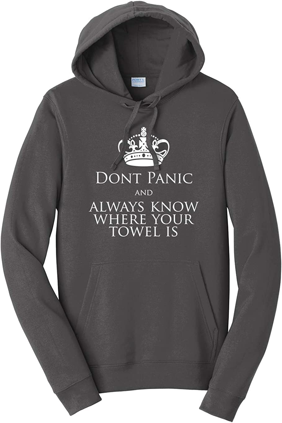 Tenacitee Unisex Always Know Where Your Towel is Hooded Sweatshirt