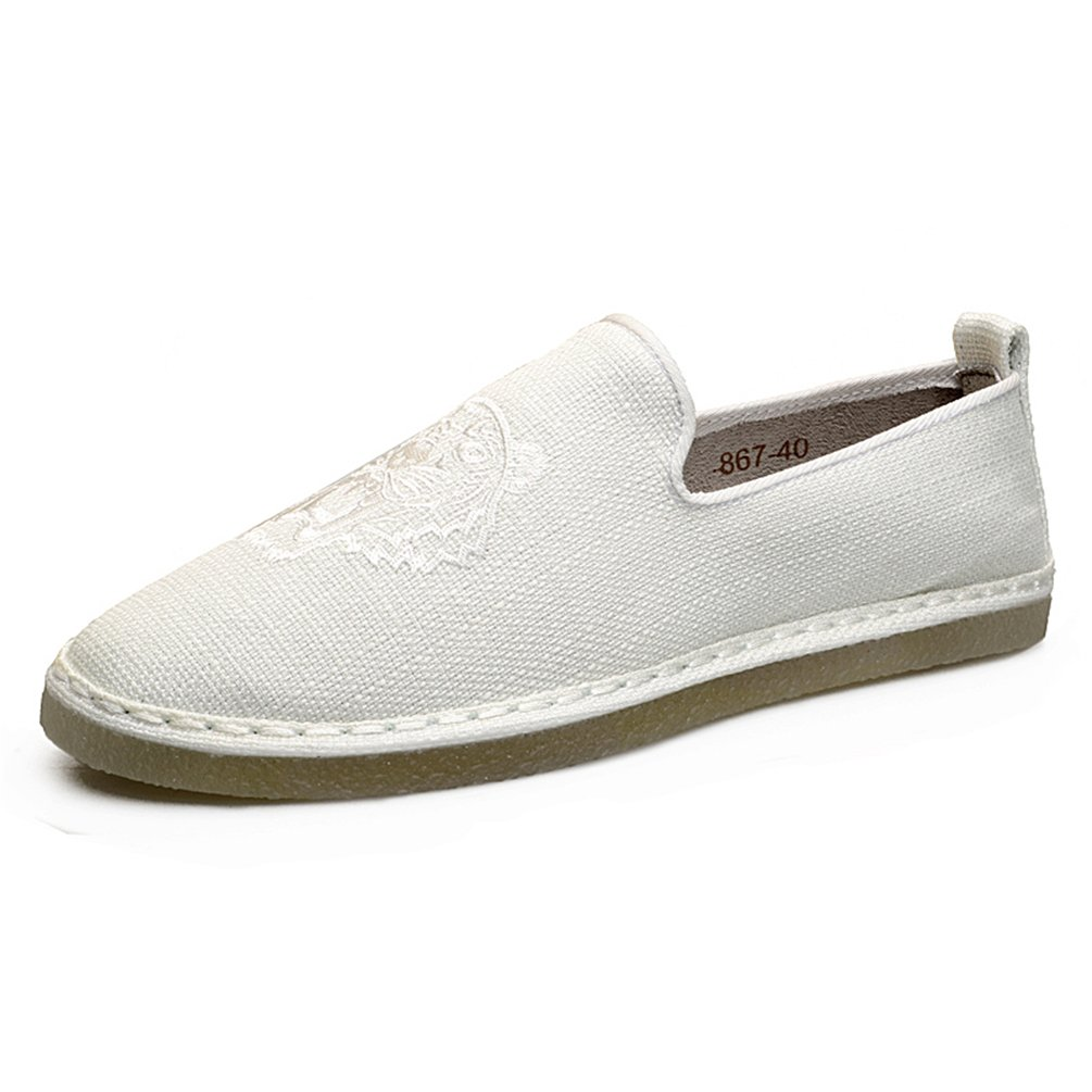 Sherry Love Men's Convertable Original Slipper for Indoor &Outdoor Use-White43