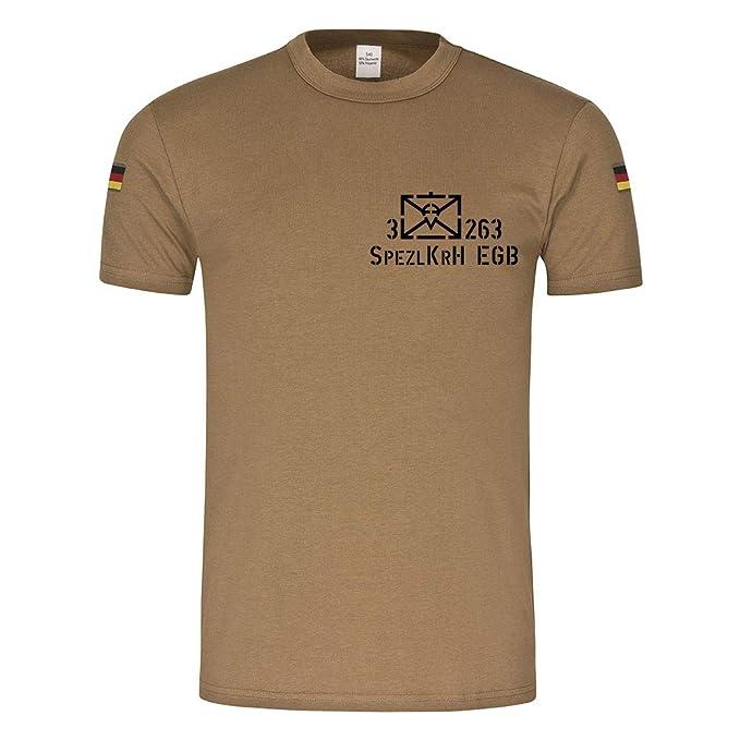 Copytec BW Camiseta de Buceo 3 fschjgbtl 263 mazar S Sharif spezlkrh EGB 25 Isaf kontingent Bundeswehr Extranjero Uso Compañía Tren Veteran Paracaidista: ...