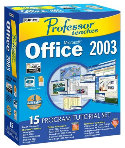 Professor Teaches Office 2003