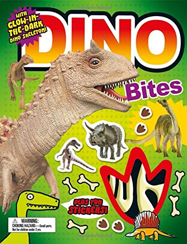 Download Fact Bites: Dino Bites: with Glow-in-the-Dark Dino Skeleton pdf epub
