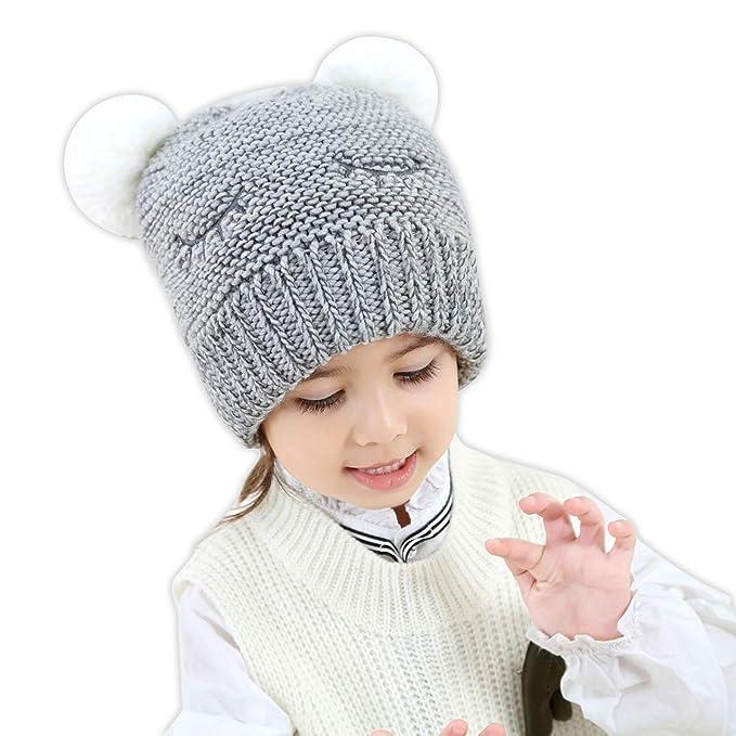 Amazon Huixiang Toddler Baby Kid Boy Girl Knitted Hats