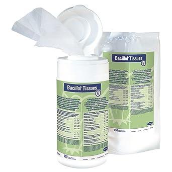 Toallitas Desinfectantes De Bacillol Tejidos Nachfuellpack 100 Toallas