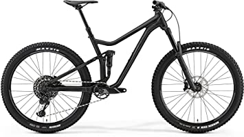 Merida ONE-Forty 800 Fully - Bicicleta de montaña, 51 cm, 27,5 pulgadas, color negro mate: Amazon.es: Deportes y aire libre