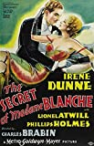 The Secret of Madame Blanche Poster 27x40 Irene Dunne Lionel Atwill Phillips Holmes