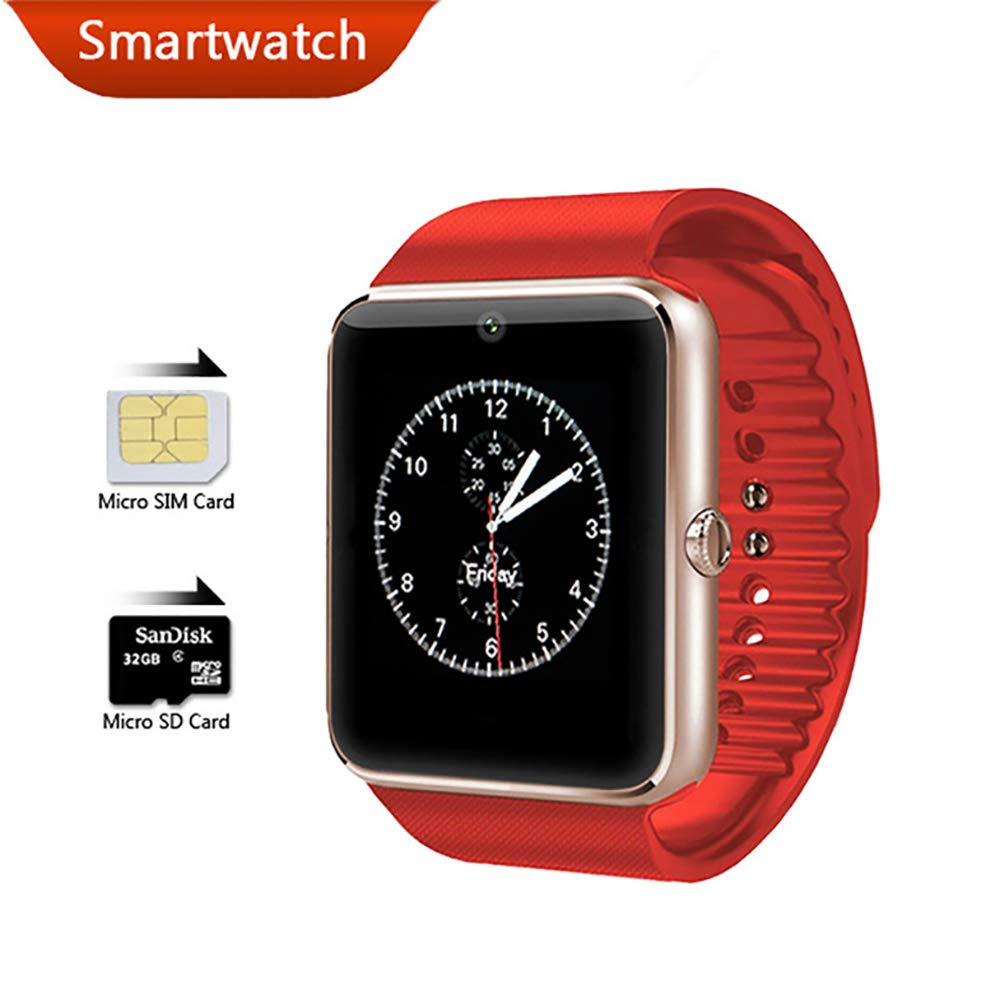 Bluetooth Smart Watch para iPhone Phone para Huawei Samsung ...