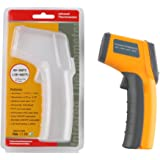 LayDUS Infrared Thermometer Non-Contact Digital Laser IR Temperature Gun -58℉ To 680℉/-50℃ To 360℃