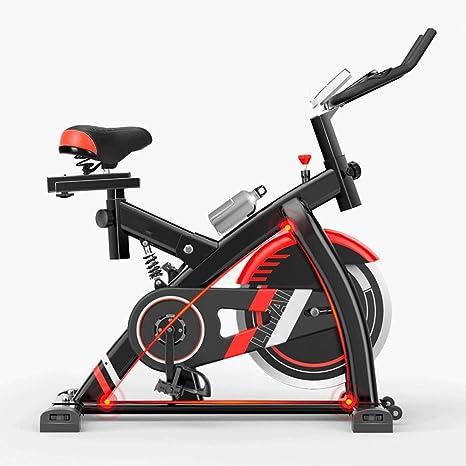 DRLGC Bicicleta de spinning, equipo de fitness para correr en casa ...