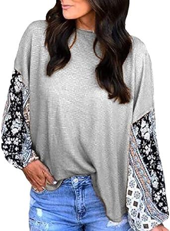 Camisa De Manga Larga Mujer Primavera Otoño Fashion Anchas ...