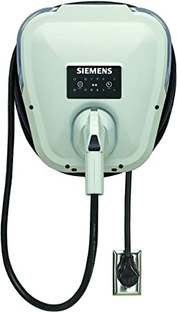 front facing siemens us2 ev charger