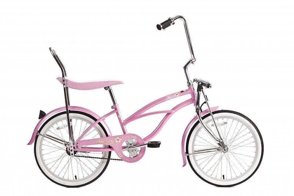 Micargi Hero, Pink Girls' 20 Lowrider Bike by J Bikes B0052NI7CI