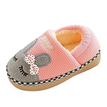 a735b7d2c6a Amazon.com: Clearance On Sale Litetao Cute Home Shoes, Kids Fur ...