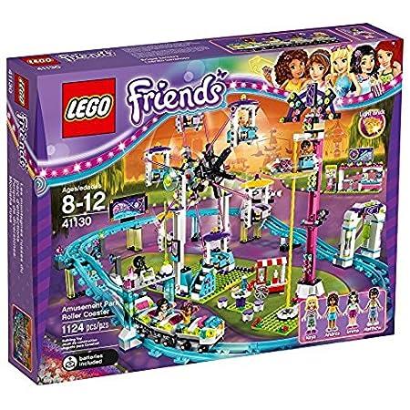 LEGO Friends Parque de atracciones montaña rusa