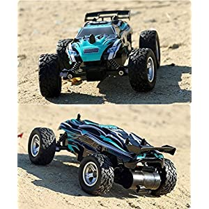 Zlimio 1/24 Scale High Speed Remote Control RC Racing Off-road Car Kids Children Toy 2.4Ghz Radio Remore Control Support Multiple Car
