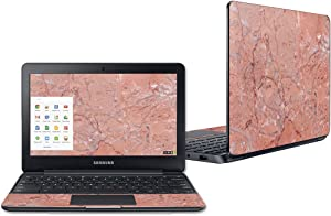"""Mightyskins Skin Compatible with Samsung Chromebook 3 11.6"""" - Pink Marble 