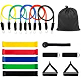 Resistance Bands with Handles-OTHA Workout Bands with Loop Bands,Door Anchor,Ankle Strap, Foam Handles for Resistance Training, Home Workouts