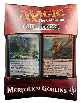 Magic the Gathering Duel Decks Merfolk vs. Goblins - Ingles ...