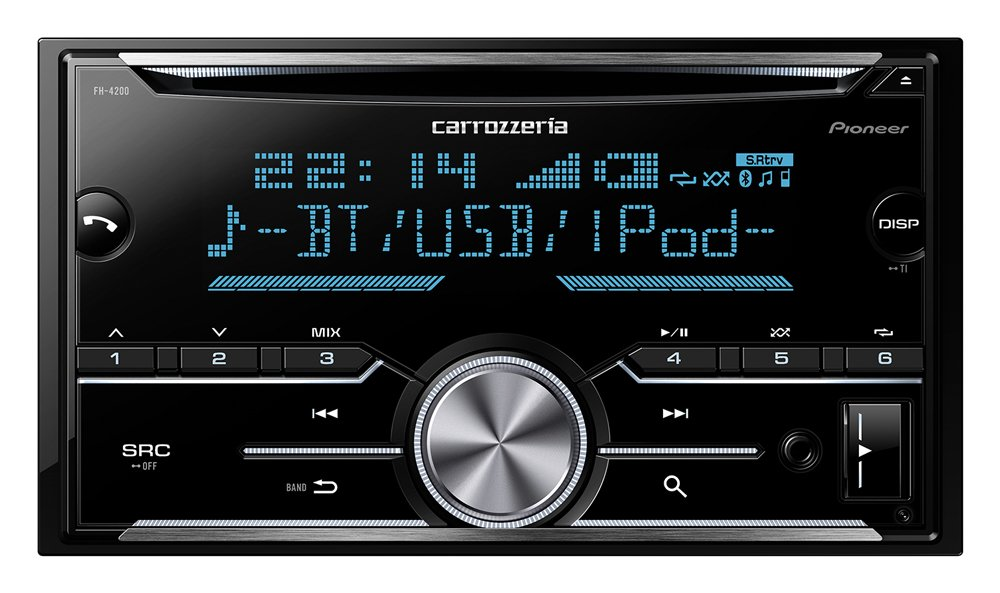 Pioneer Carrozzeria Car Audio 2D main unit FH-4200 Bluetooth USB FH4200 Tuner(Japan Domestic genuine products) by Carrozzeria