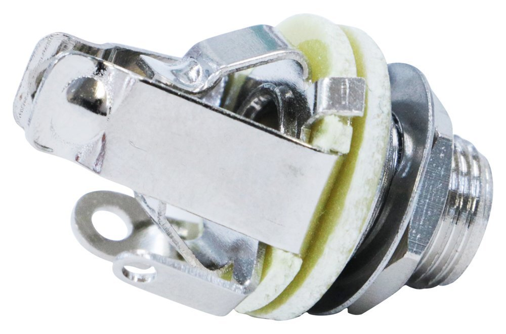 2 Pack of Pure Tone Full-contact Output Jack for Guitar/Bass, with Mounting Hardware AP International 4334248445