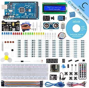 SunFounder Mega 2560 R3 Project Super Starter Kit with Mega 2560 Board