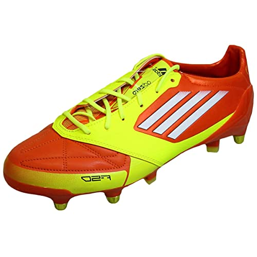sale retailer 0c1fc b0725 adidas F50 adiZERO Leather XTRX Soft Ground Football Boots 12 Yellow talla  12  Amazon.es  Zapatos y complementos
