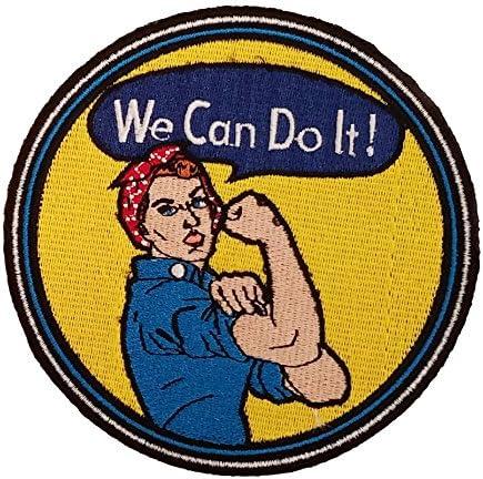 Rosie la remachadora feministas símbolo Sew On patch: Amazon.es: Juguetes y juegos