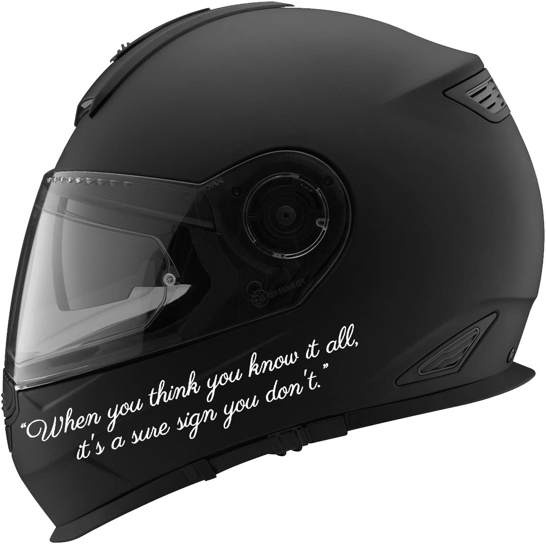 Motorcycle Helmet Sticker Black Mechanic Racing Tool Box Decal Small Vinyl Men