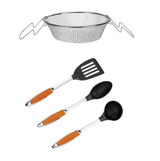 Top Shop New Chef batería de Cocina Juego de Accesorios de Cocina de Aluminio Huso 27 Piezas: Amazon.es: Hogar
