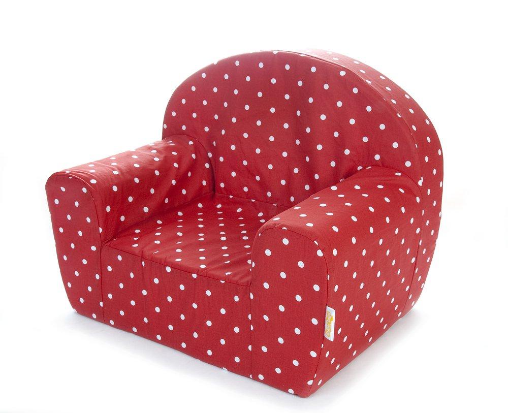 Kindersessel design  Gepetto Kinder Sessel - Rot mit weißen Punkten: Amazon.de: Küche ...