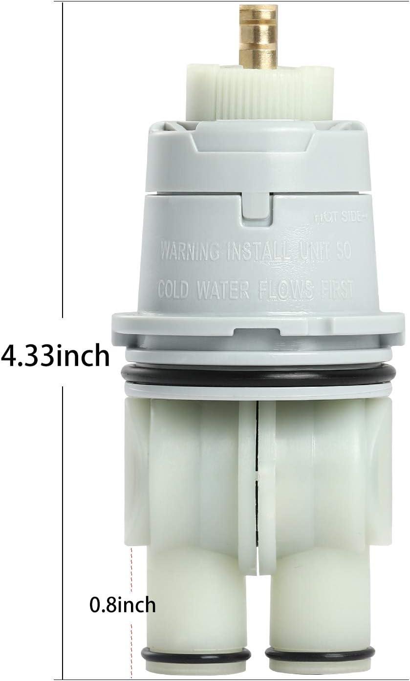 RP46074 Universal Valve Cartridge Compatible With Delta Faucets 13//14 Series Shower Valves for Delta RP46074 Single Handle Valve Cartridge Replacement