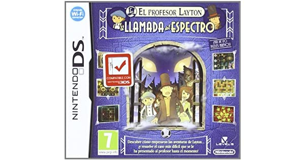 Profesor Layton y la Llamada del Espectro [Spanish Import] by Nintendo: Amazon.es: Videojuegos