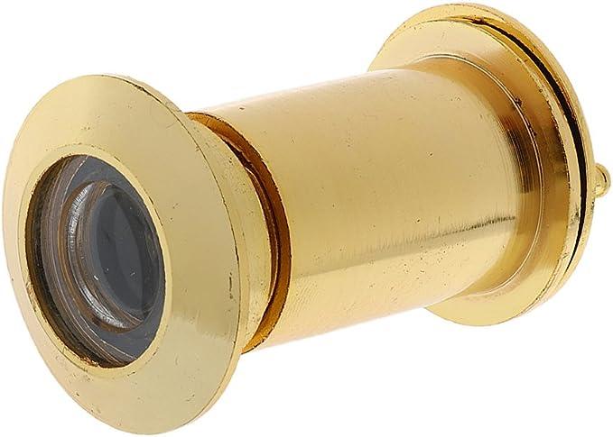 MagiDeal Judas de Porte 50-90mm en Alliage de Zinc /à 200 Degr/és D/étecteur pour S/écurit/é Maison Argent