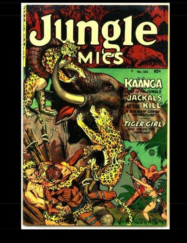 Jungle Comics #163: Golden Age Jungle Comic