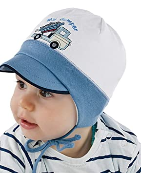 585a838a New Baby Boy Cotton Rich Hat Boys Spring Autumn Cap Hat 0-18 Months ...