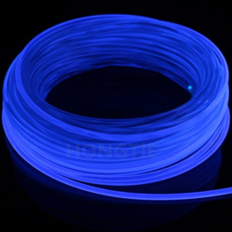 100meters5 0MM Universal Decoration Side Glow Fiber Optic Cable Car