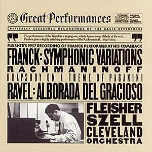 Rachmaninoff: Rhapsody on a Theme of Paganini in Am; Ravel: Alborada Del Gracioso