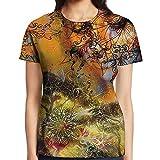 WuLion Goddness Floral Mandala Swirl Forest Print Ivy Color...