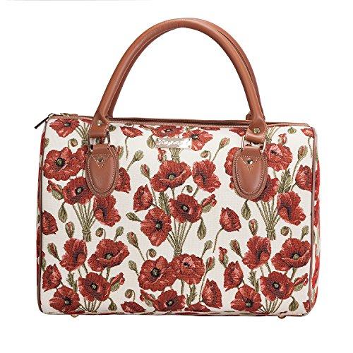o Casa La fuori del Borsa Fashion Donna weekend tela una da notte Poppy settimana viaggio su grande Signare qw17a