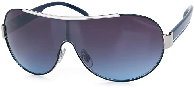styleBREAKER gafas de sol de diseño con un solo cristal y ...