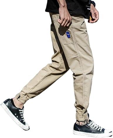 Pantalones Harem Informales para Hombre, Pantalones de ...