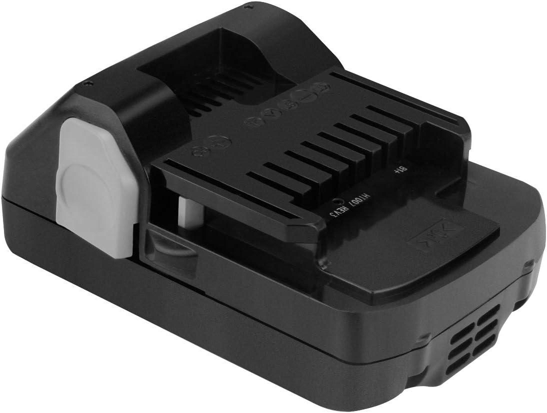 Joiry 14.4V 2.5Ah Li-ion Rechargeable Batterie pour HITACHI BSL 1430 BSL 1415 329901 329877 329083