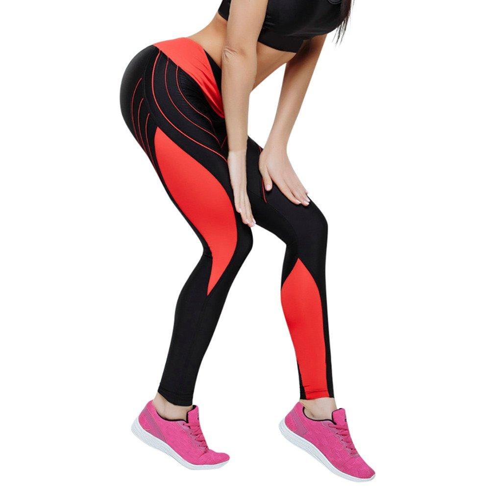 Leggins Mujer Fitness Yoga Pantalones Rutina De Estampado A Rayas Color Coincidente Cintura Media Pantalones De Flaco Correr Leggings EláSticos De Flaco Fitness Leggins Mujer