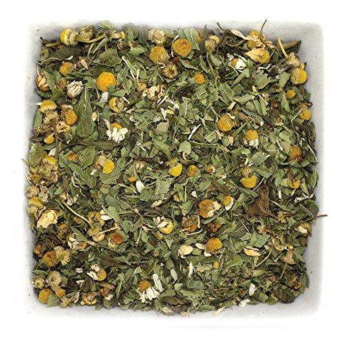 - Tealyra - Healing Meadow - Chamomile - Spearmint - Lemon Verbena - Herbal Loose Leaf Tea - Calming and Relaxing Tea - Caffeine-Free - 100% Natural Ingredients - 112g (4-ounce)