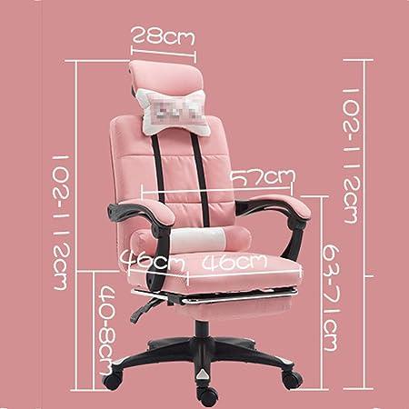 Amazon.com: Silla de oficina en casa, silla de estudio ...