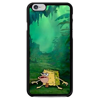 61YWZUOrMzL._SX425_ amazon com caveman spongebob meme cases iphone 6 plus 6s plus
