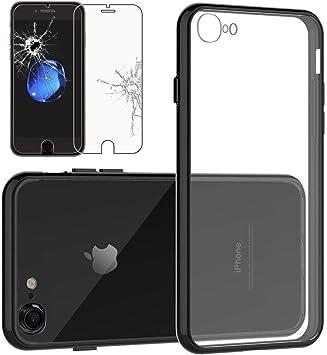 coque iphone 7 noir rigide
