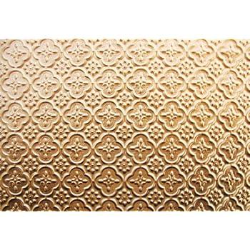Amazon.com: Discounted Decorative Plastic Backsplash Wc-20 Gold Wall ...