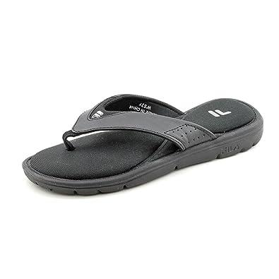 7319d98fa0e9c1 Fila Women s Amazen Memory Portal Black Sandals 11 M  Amazon.in  Shoes    Handbags